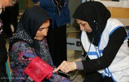 """گزارش تصویری: کاروان سلامت"""" همت عالی """" در روستای چورت"""
