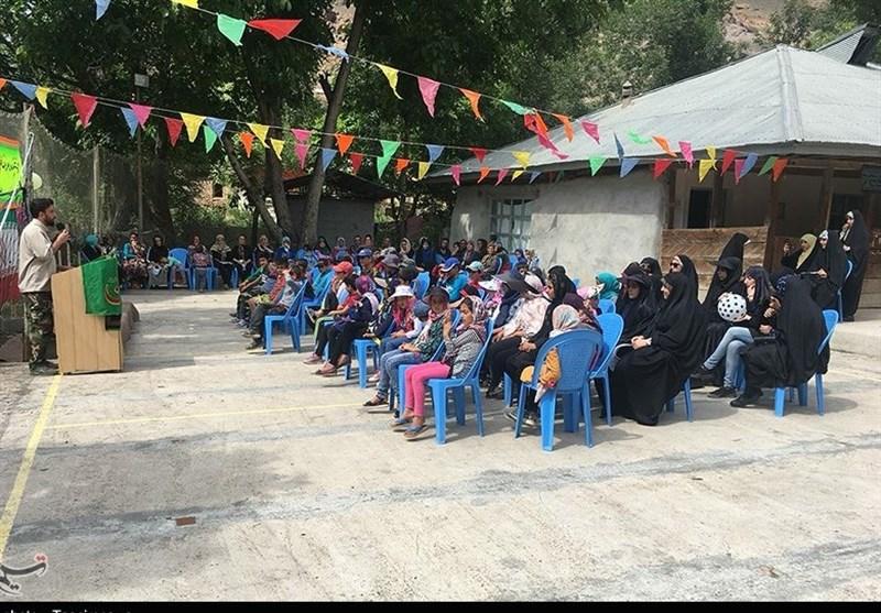 تبلور محرومیتزدایی در مناطق دورافتاده مازندران با برپایی اردوهای جهادی