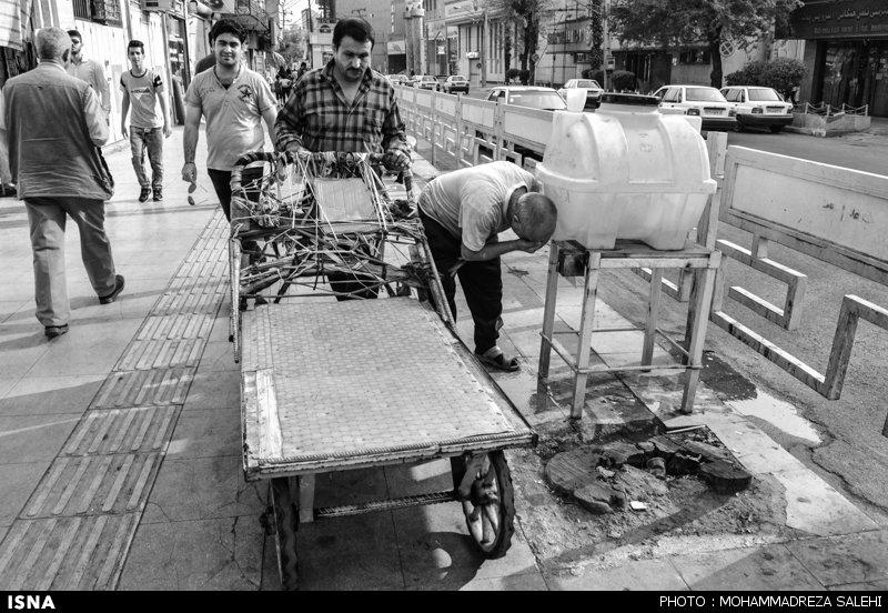 نذر برای رفع عطش برخی نقاط ایران