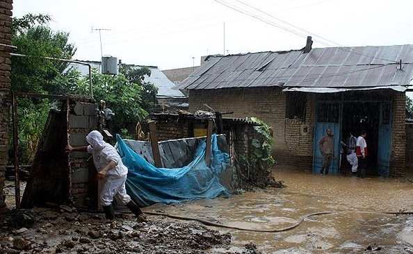 فرماندار ساری: بارش های سیل آسا دیروز در منطقه چهاردانگه ساری 12 روستای در معرض سیل قرار داد