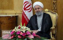 ویدئو / سخنان روحانی پیش از اجلاس دریای خزر