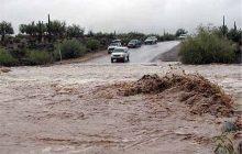 سیلاب در گزنک/ تداوم سیلاب تا هفته آینده