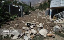 خسارات سیل در روستای «گزانه»