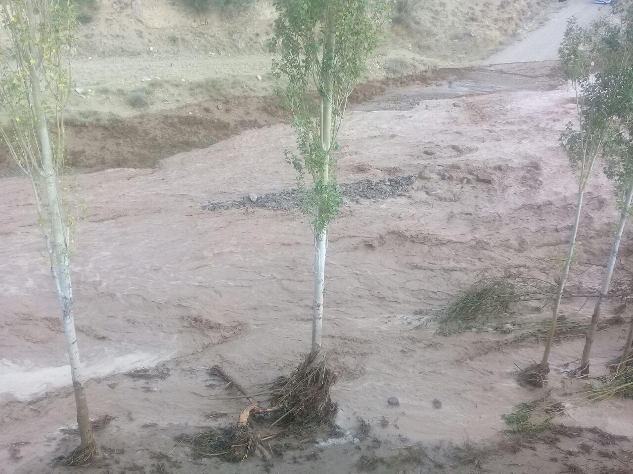 احتمال وقوع سیل در مناطق کوهستانی مازندران تا روز دوشنبه