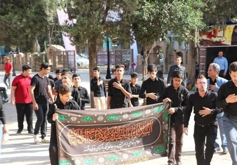 برپایی سوگواره جوانان عاشورایی مازندران