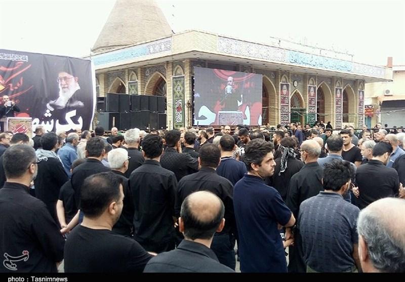 برپایی عزای حسینی مازنیها در روز تاسوعا