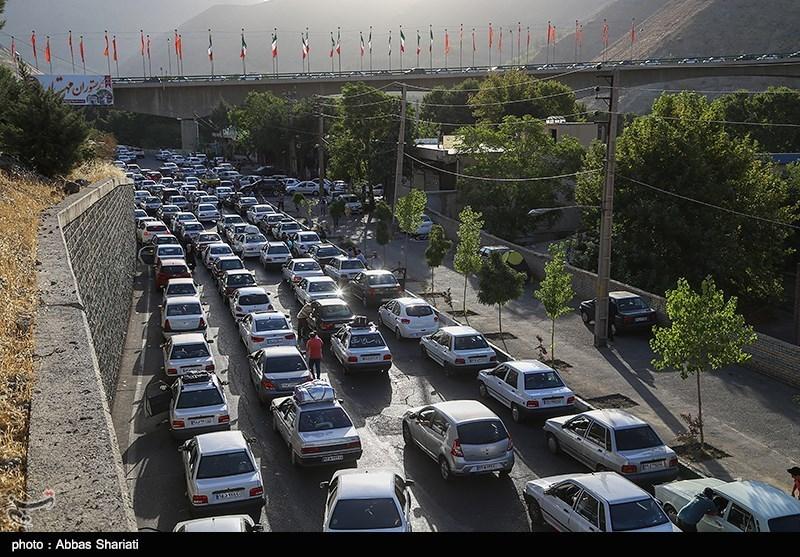 ترافیک محورهای مواصلاتی مازندران نیمهسنگین است