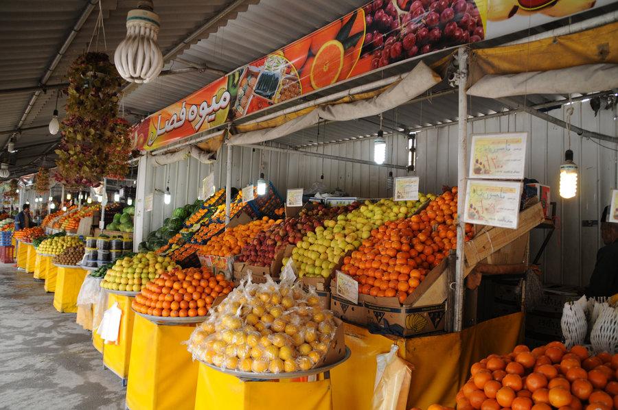 میدان میوه و تره بار در شهر کیاسر احداث می شود