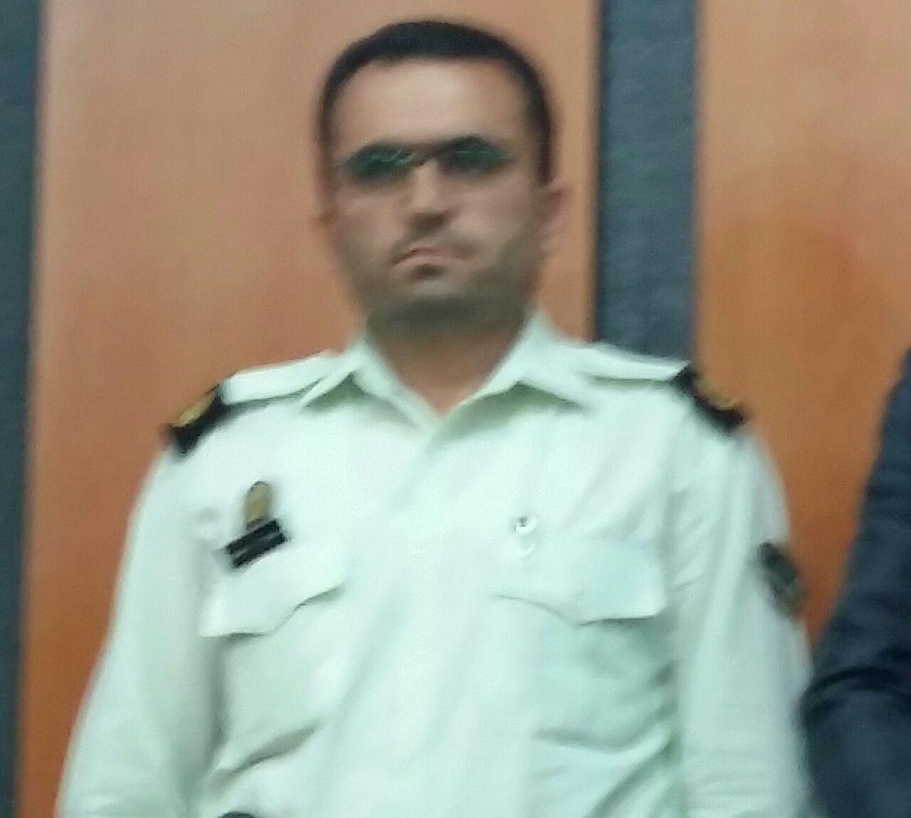 سرگرد عسکری موسوی به عنوان فرمانده جدید نیروی انتظامی بخش چهاردانگه معرفی شد