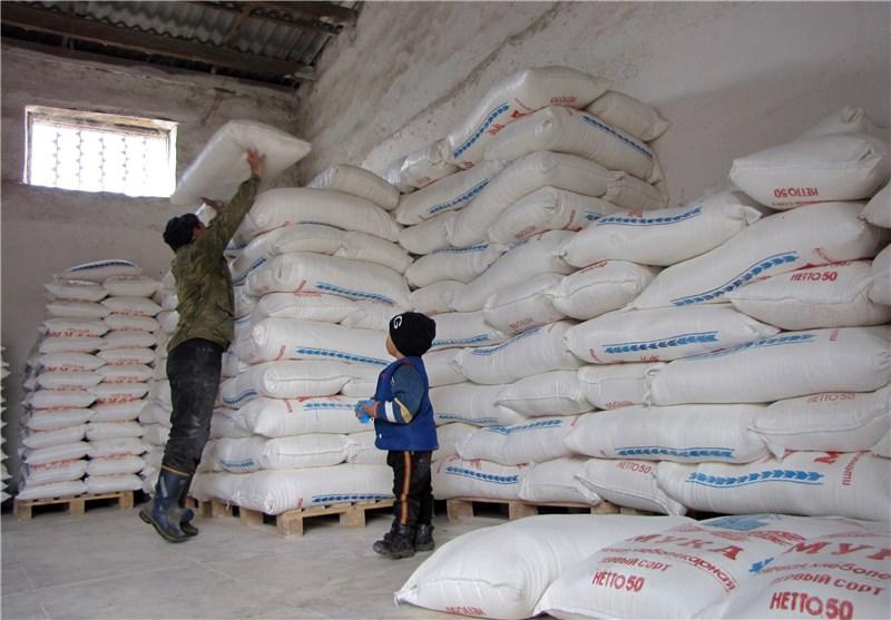 ساری| 17 تن آرد برای پذیرایی از زائران اربعین حسینی به عراق ارسال شد