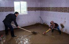 نیروهای امدادی به داد مردم منطقه میرزاکوچک خان برسند/ طغیان رودخانه صفارود رامسر