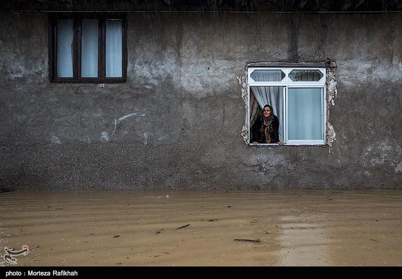 وضعیت منازل مسکونی ایثارگران آسیبدیده سیلاب غرب مازندران بررسی شد