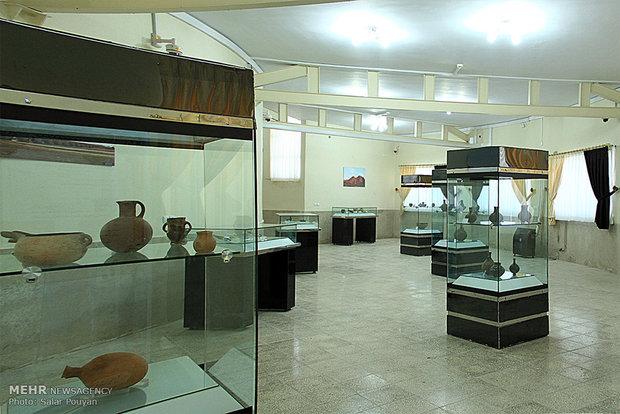 تعدادی از آثار کشف شده محوطه باستانی وستمین مرمت شد