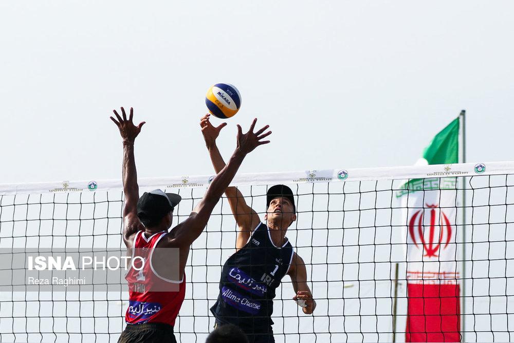تورجهانی تک ستاره والیبال ساحلی