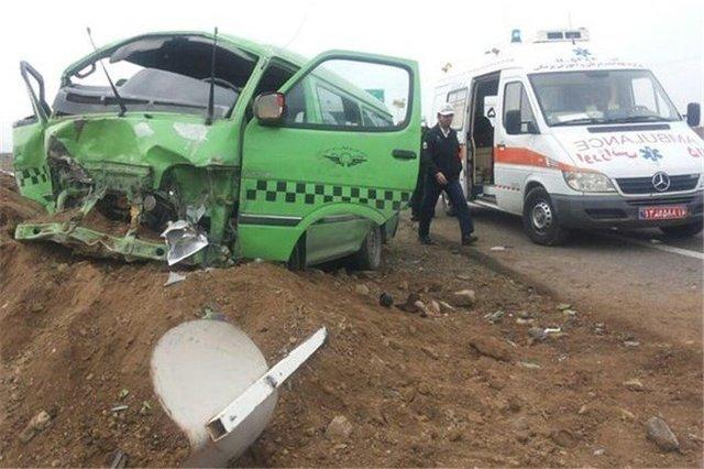 واژگونی ون زائران ایرانی در مسیر حله/ 11 مازندرانی مصدوم شدند