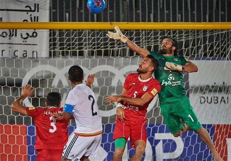 ساری| دروازهبان تیم ملی فوتبال ساحلی: فصل آتی در شهریار بازی نمیکنم