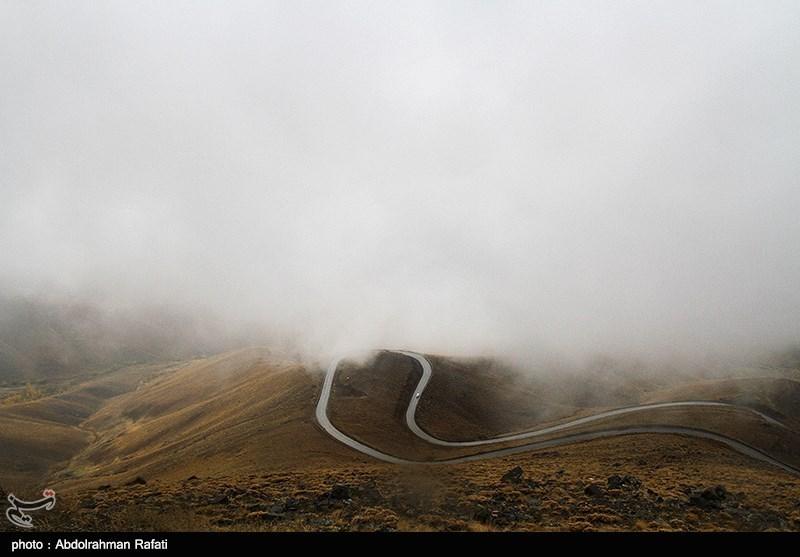 بارش ناگهانی برف پاییزی در مازندران/خبری از دستگاههای امدادرسان نبود