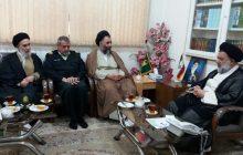 ملاقات رئیس عقیدتی سیاسی ناجا با آیت الله میرعمادی