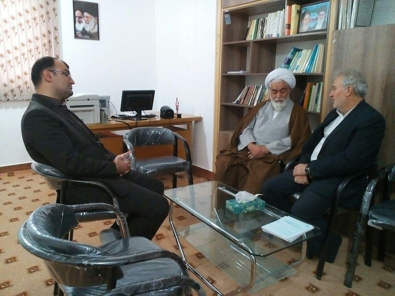حضور مدیر کل فناوری و اطلاعات استان مازندران در کیاسر