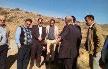 بازدید جمعی ازمسئولین استانی از سورت برای تعیین تکلیف محدوده آن + تصاویر
