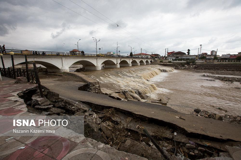تجاوز آشکار به حریم رودخانههای مازندران