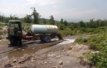 اضافه شدن کوههای کثیف به مازندران! + فیلم