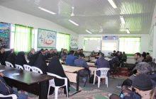 جلسه توجیهی مدیران مدارس منطقه چهاردانگه با حضور دو تن از کارشناسان  اداره کل برگزار شد
