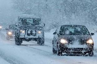 بارش برف در ارتفاعات محورهای مازندران/ احتمال انسداد جادهها درصورت بارش سنگین برف