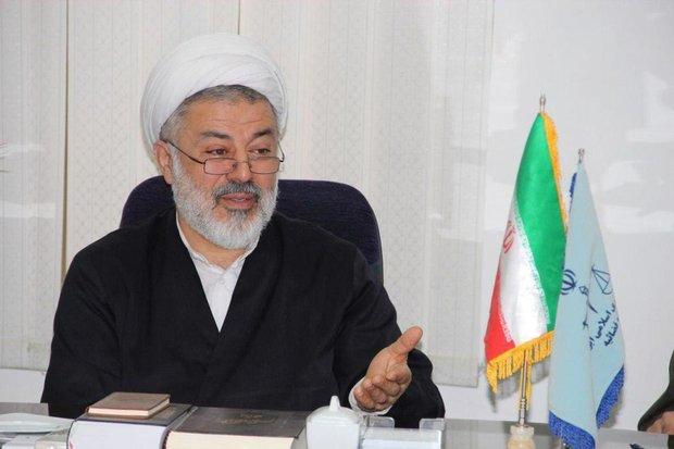 تعداد زندانیان تحت قرار در مازندران کاهش یافت