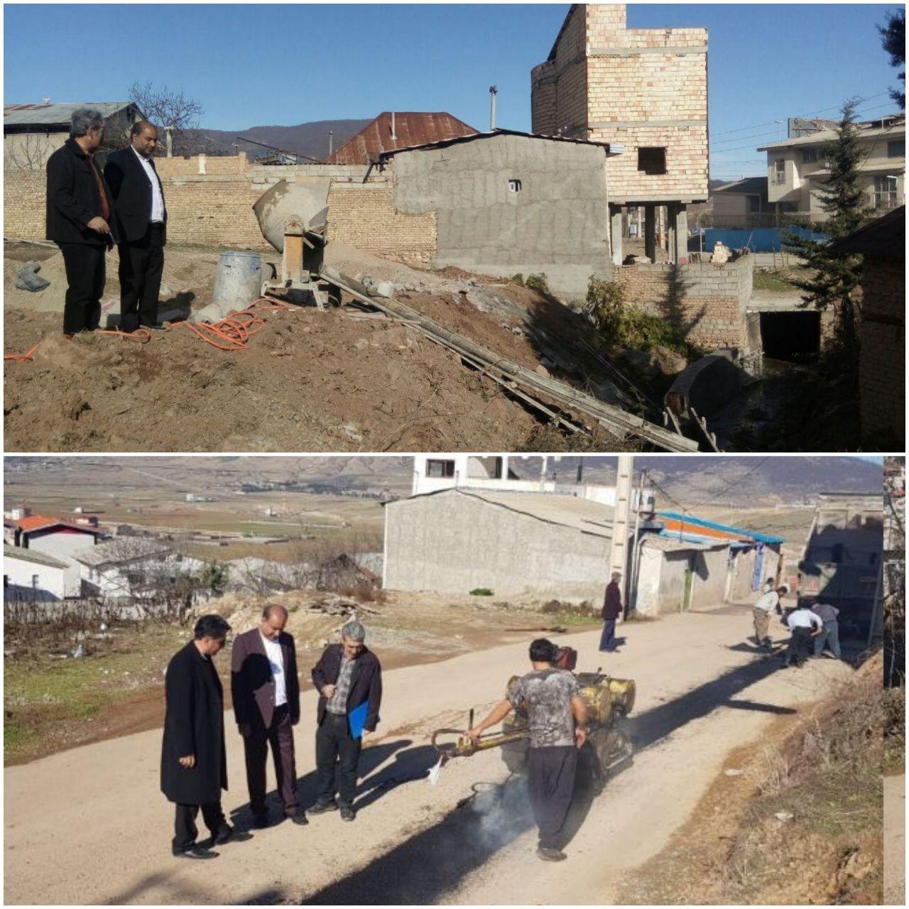 افزایش ۱۲۰ درصدی اعتبار عمرانی شهرداری کیاسر/ادامه عملیات اجرایی پروژه های عمرانی