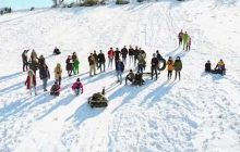 شهروندان برای تفریحات و استفاده از برف فعلا وارد منطقه نشوند