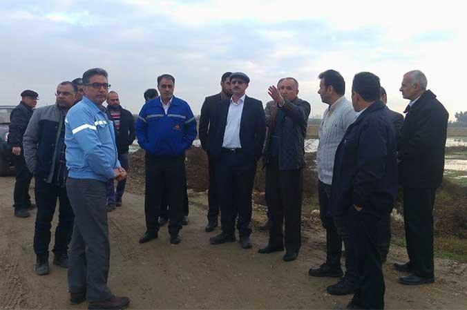 مدیر منطقه 9 عملیات انتقال گاز از خط دامغان – کیاسر – نکا بازدید کرد