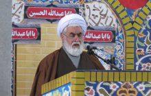 هشدار امام جمعه در مورد سیلبندهایی که در حوادث اخیر تخریب شده+فایل صوتی