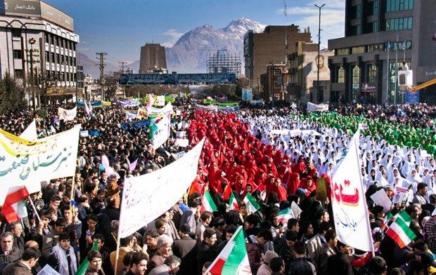 اعلام مسیرهای شصتگانه راهپیمایی ۲۲ بهمن در مازندران