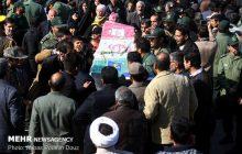 بزرگداشت شهدای پاسدار حادثه تروریستی در سوادکوه برگزار شد