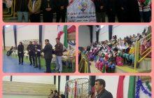 مراسم اختتامیه پنجمین دوره المپیاد ورزشی درون مدرسه ای در دبستان فردوسی کیاسر برگزار شد