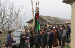 تصاویر: عزاداری شهادت حضرت فاطمه (س) در روستای ازنی