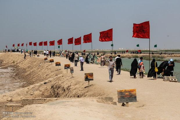 ۸۰۰ نفر از زائران نکایی به مناطق عملیاتی جنوب اعزام میشوند