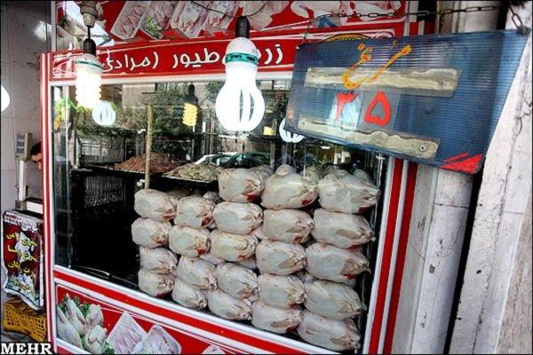 توزیع ۱۰۰ تن مرغ در جویبار