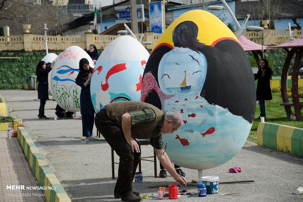 مازندران به پیشواز بهار رفت/ آیین های نوبرانه نوروزی