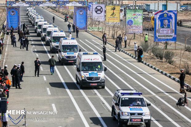 قرارگاه نوروزی پلیس در ساری راه اندازی شد