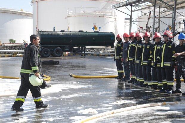 برگزاری رزمایش واکنش و افتتاح سیستم تصفیه پساب صنعتی در چالوس