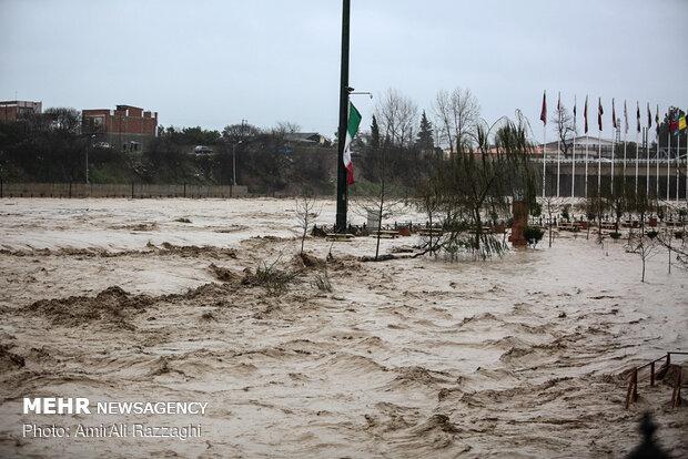 خسارت سیل به ۱۵۰۰ واحد مسکونی در مازندران