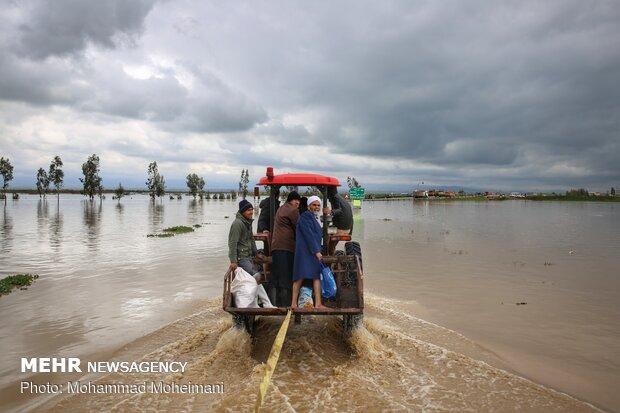 امدادرسانی به ۹۶۶۱ حادثه دیده برف و کولاک در مازندران