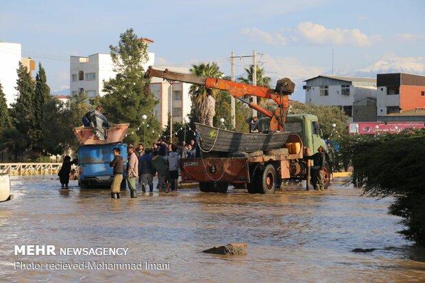 آب و برق روستاهای سیل زده در مازندران وصل شد