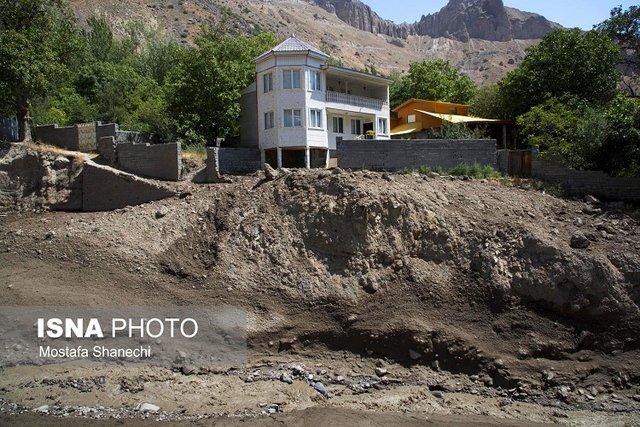 تخریب 15 ساختمان در معرض سیلاب نوشهر در آینده نزدیک