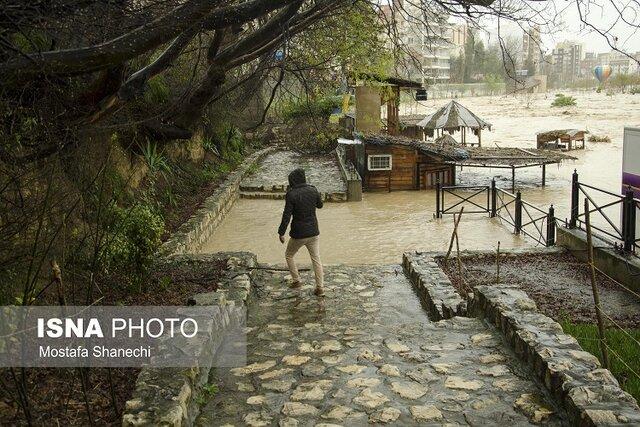 ۳۰ میلیمتر بارندگی در مازندران بحرانزا است