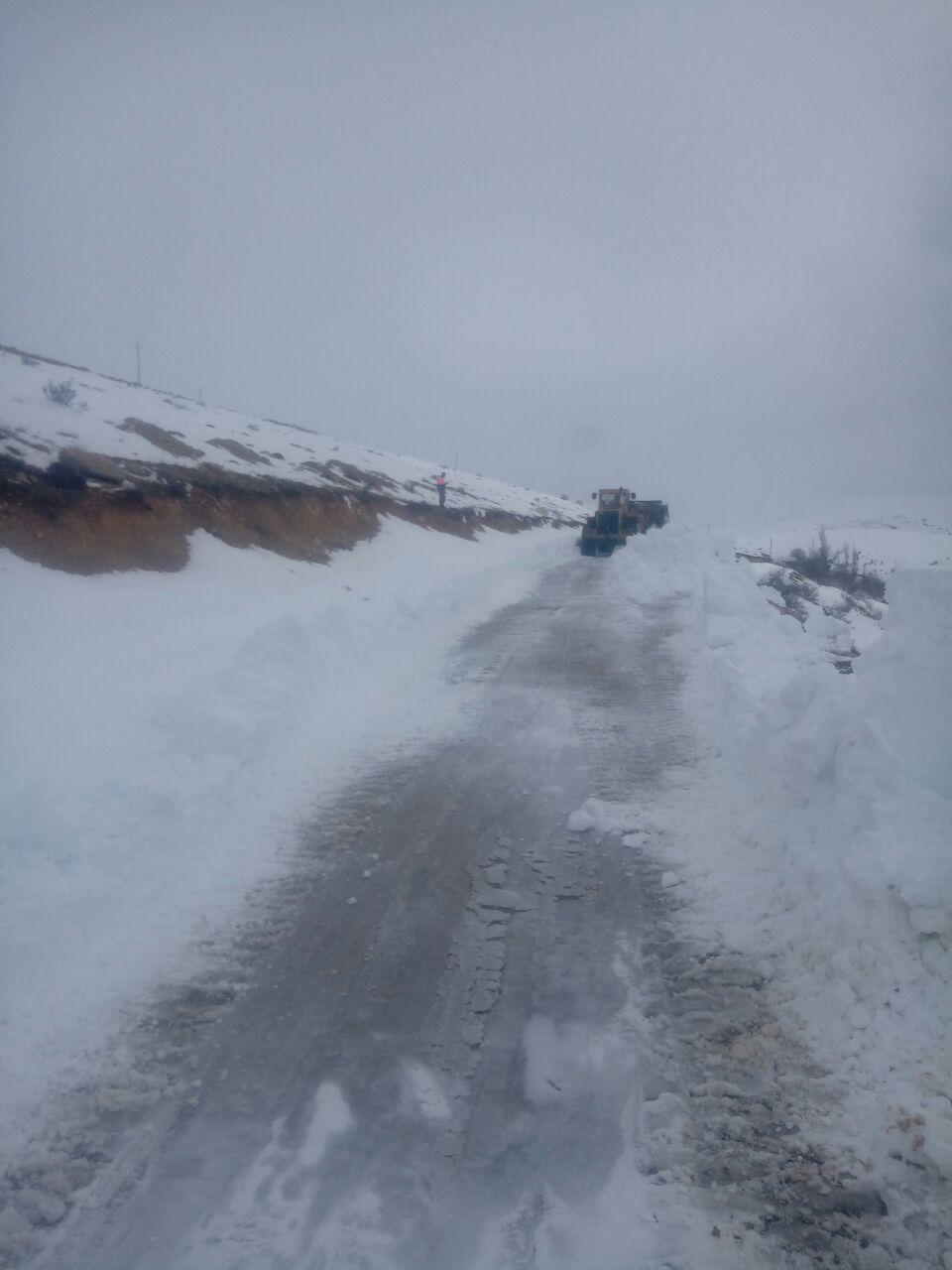 راه روستاهای منطقه پشتکوه باز شد