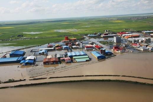 خسارت ۸ میلیارد تومانی سیل به شبکه برق مازندران