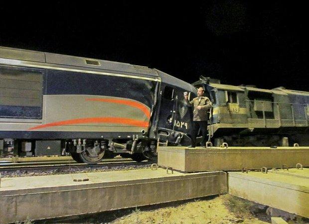 برخورد قطار با پراید در ساری یک کشته داشت